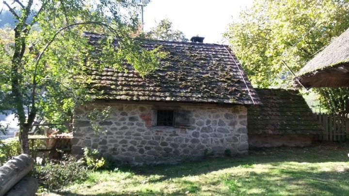 Altes Backhaus auf dem Vogtsbauernhof, Schwarzwald