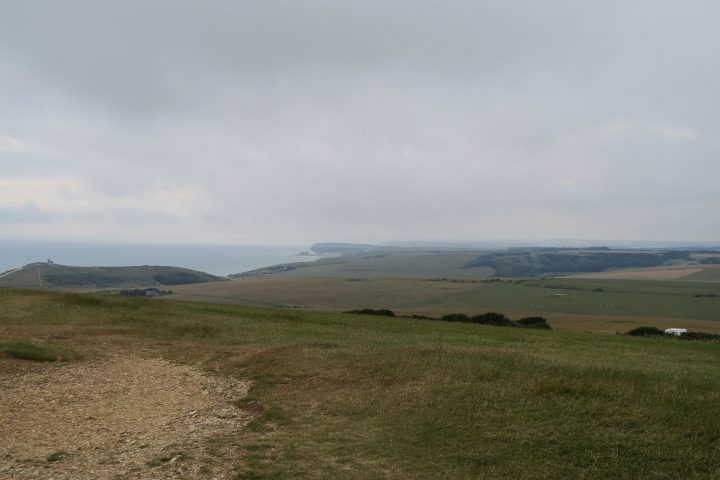Coast Path bei Beachy Head