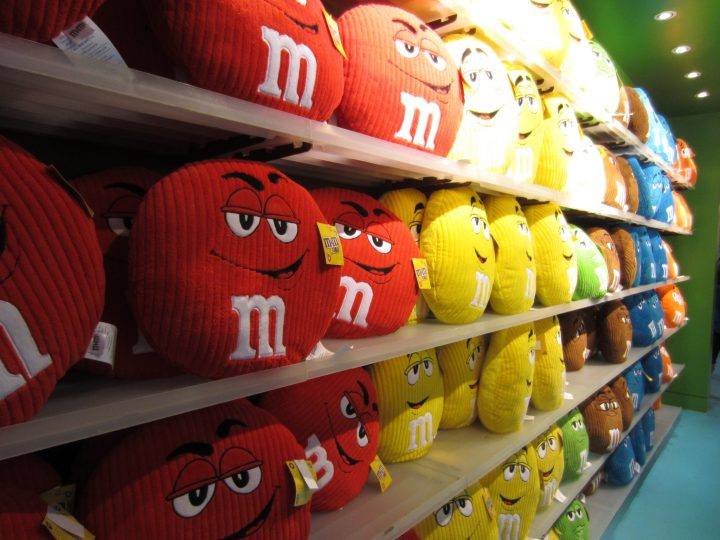 M & M Store Piccadilly Circus
