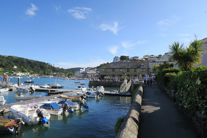 Uferpromenade in Salcombe