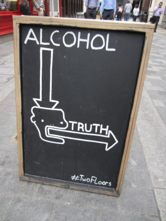 Alcohol truth