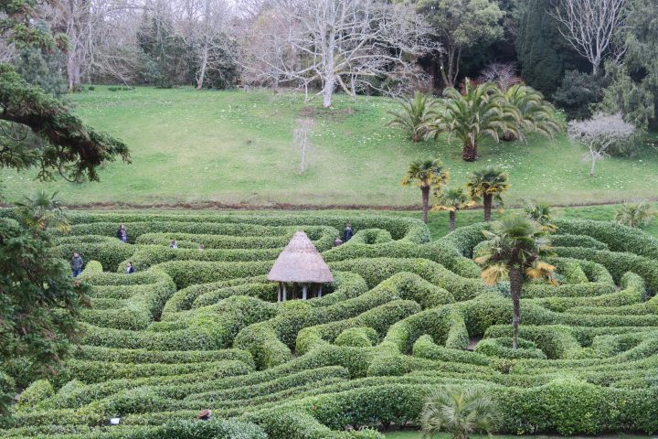 Labyrinth in Glendurgan Garden, Cornwall