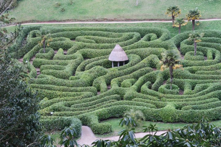 Labyrinth in Glendurgan