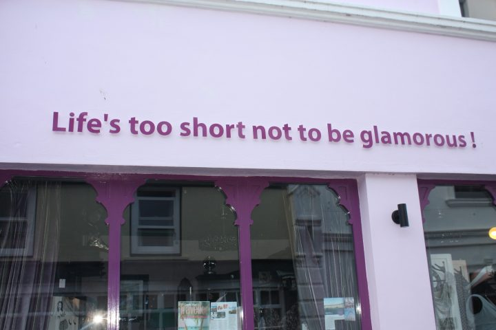 Life's too short not to be glamorous
