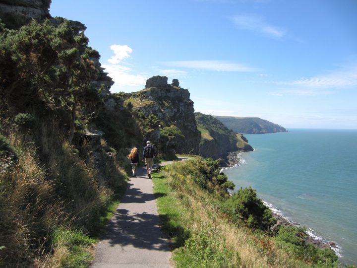 Coast Path bei Lynton
