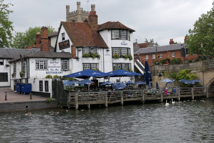 Angel on the Bridge Pub in Henley-on-Thames