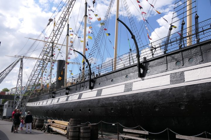 Das Museumsschiff SS Great Britain