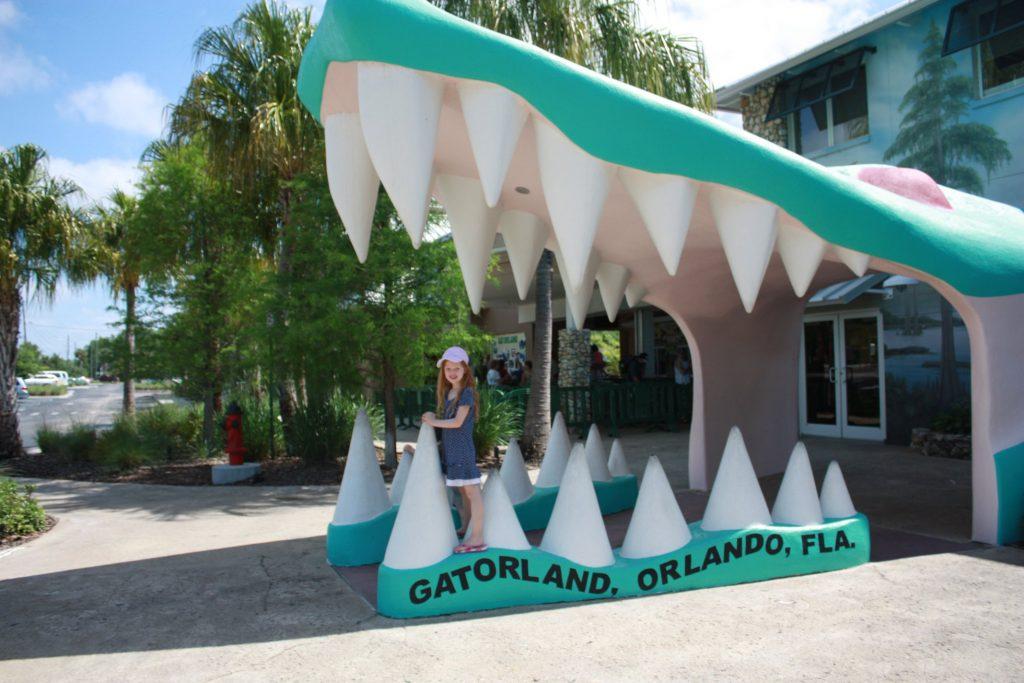 Gatorland Orlando, Eingangsbereich