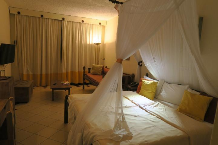 Himmelbett, Severin Sea Lodge, Kenia