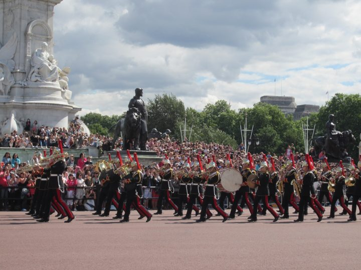 Wachablösung, Changing of the Guards am Buckingham Palace