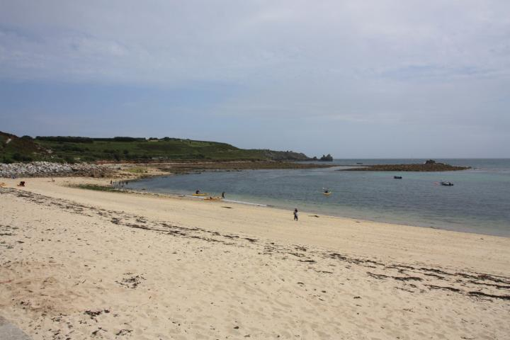 Porth Cressa at St. Mary's Isles of Scilly