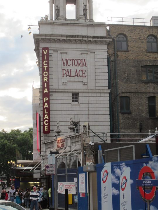 Das Victoria Palace Theatre in London. Hier wird Billy Elliot gespielt