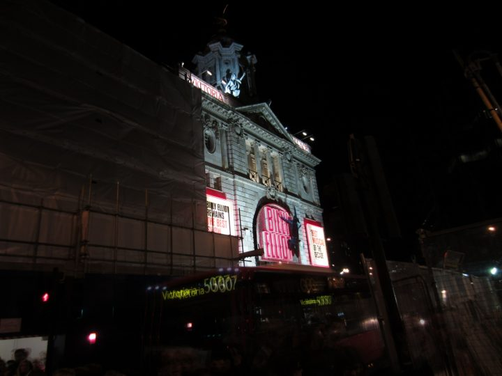 Das Victoria Palace Theatre in London (Spielstätte von Billy Elliot)