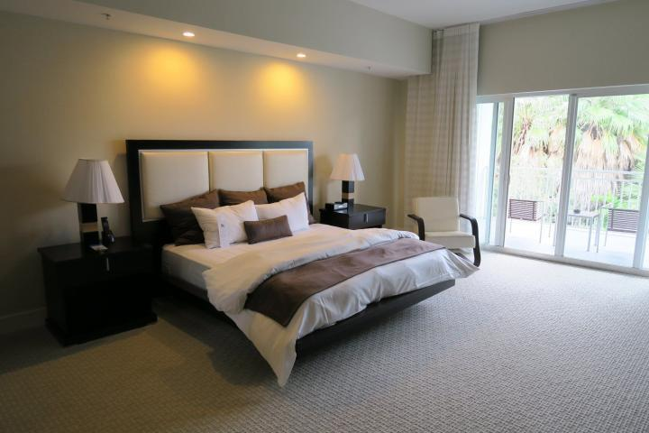 Master bedroom at Provident Doral at the Blue, Miami