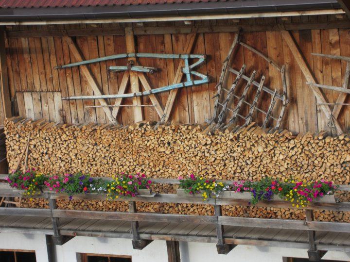 Scheune, Urlaub auf dem Bauernhof, Mitterolang, Pustertal, Südtirol, Färberhof