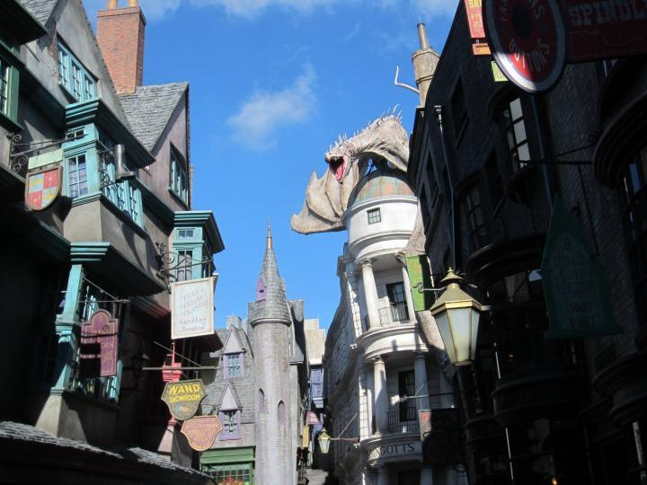 Winkelgasse in Universal Islands of Adventures in Orlando, Florida