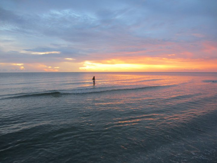 Sonnenuntergang in Naples, Florida