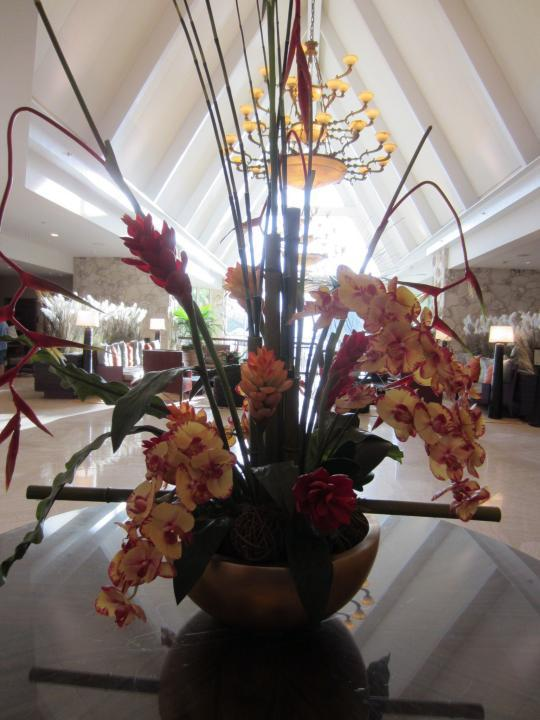 Lobby des Marco Island Marriott Hotels, Florida