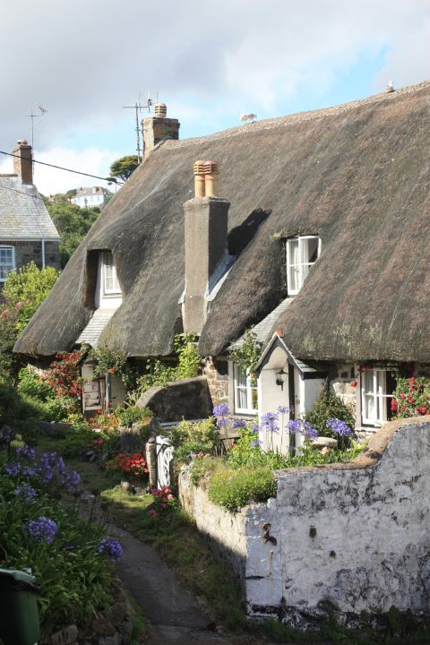 Typische Cornwall Cottage in Cadgwith