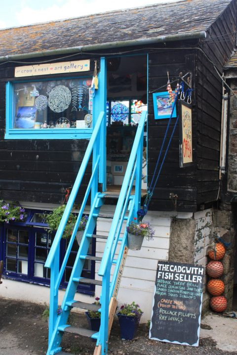 Shop in Cadgwith, Cornwall