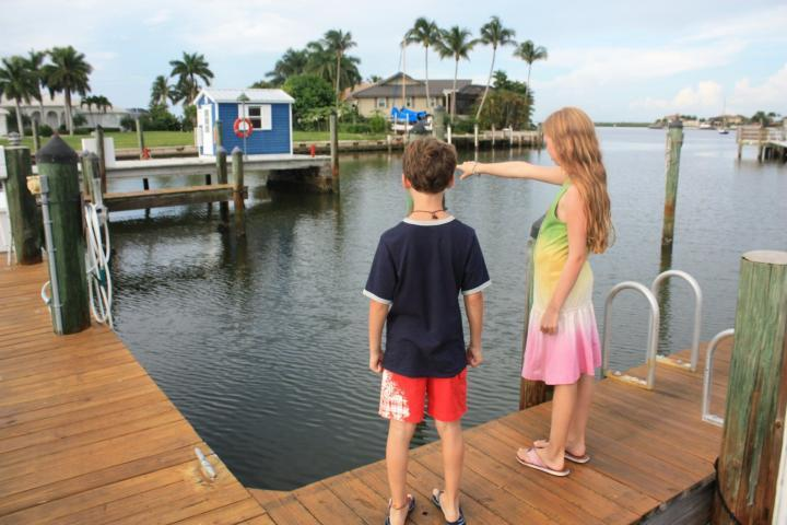 Rose Marina in Marco Island, Florida