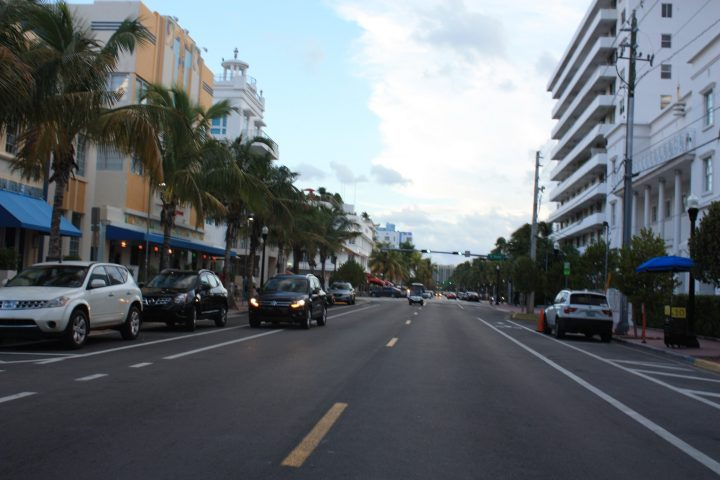 Ocean Drive in Miami Beach, Florida