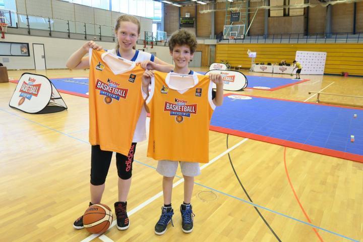 kinder+Sport Basketball Academy Testtag Ludwigsburg MHP Riesen