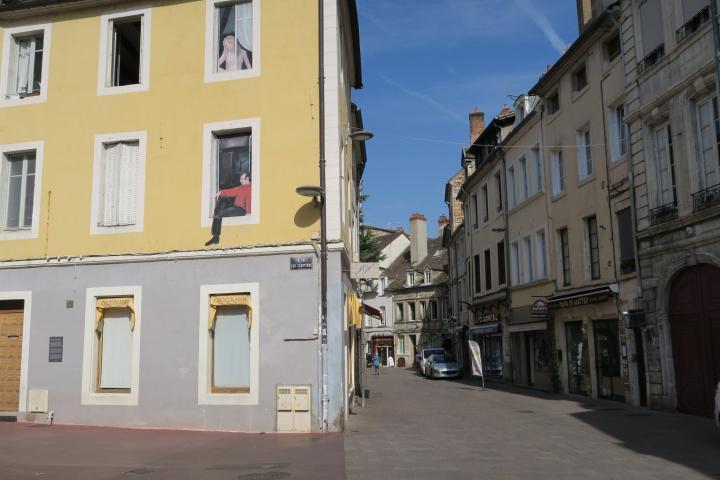 Haus mit Malerei, Chalon-sur-Saône, Arosa Luna