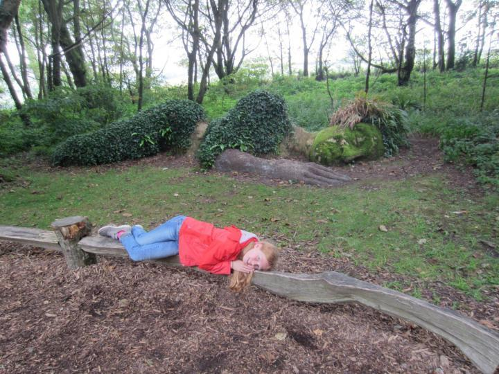 Cornwall mit Kindern, Lost Gardens of Heligan, Mud Maid