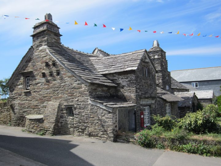 Beautiful building: The old post office in Tintagel