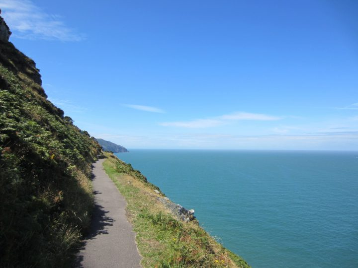 Devon, Lynton, Coast Path