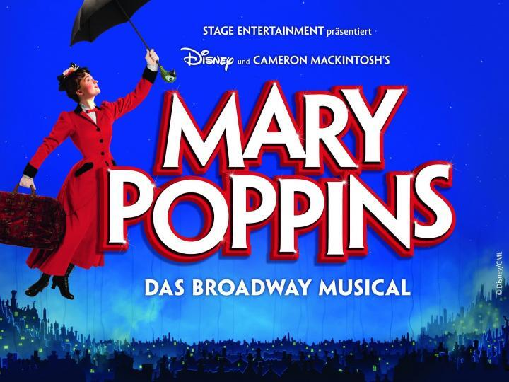Mary Poppins mit Kindern, Stuttgart, Foto: Stage Entertainment