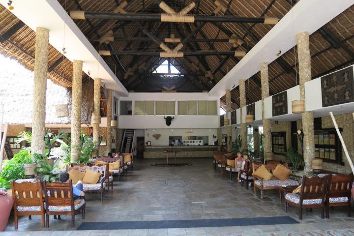 Hotellobby Severin Sea Lodge, Kenia