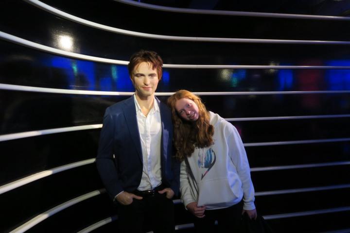 Robert Pattinson alias Edward