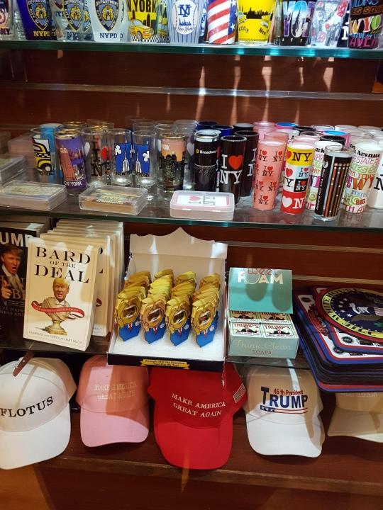 Trump-Souvenir Shop im Trump Tower