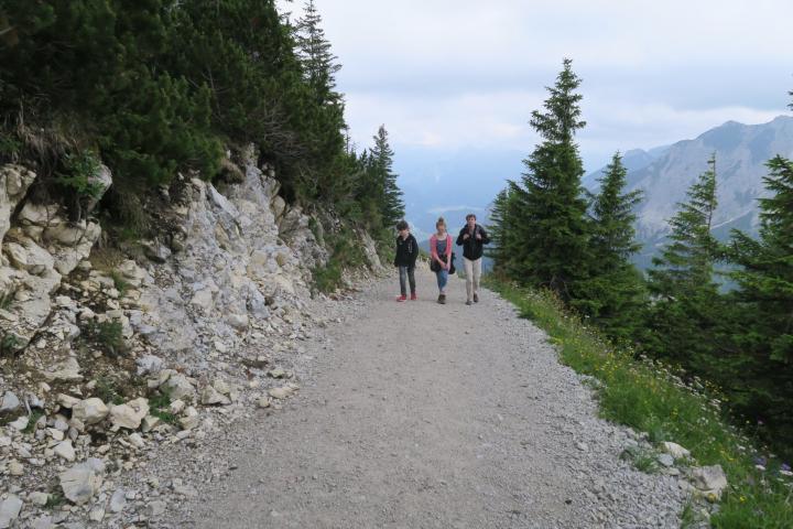 Wanderweg zur Ostlerhütte